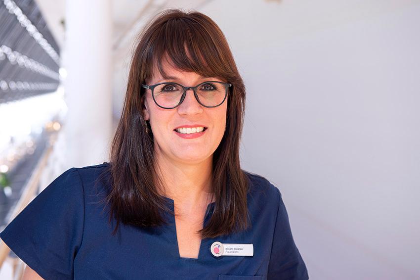 Miriam Espeloer - Fachärztin für Frauenheilkunde u. Geburtshilfe